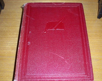 "Vintage 1940 Funk and Wagnalls Company ""The Practical Standard Dictionary of the English Language"" Book Volume One A-K"