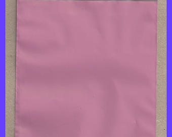 "Solid Rose Pink 6"" x 9"" Self Adhesive Designer Poly Envelope Mailers"