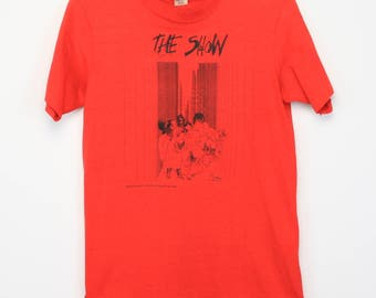 Ralph Steadman Shirt Vintage tshirt 1970s The Show British Gonzo Artist Hunter S. Thompson Fear and Loathing in Las Vegas Psychedelic 70s