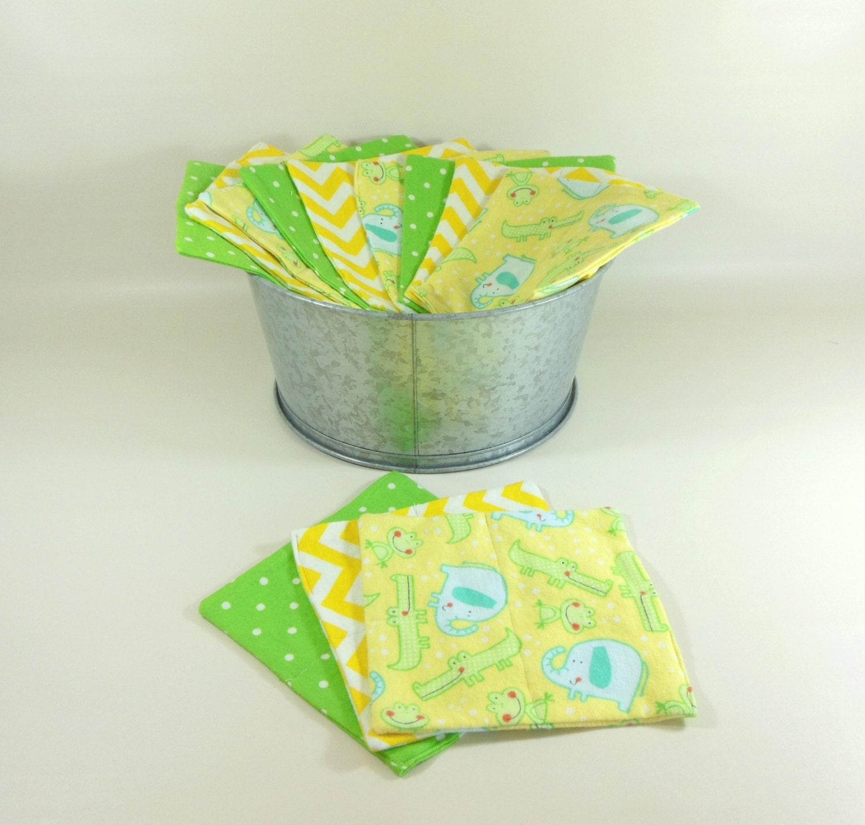 Wash Cloths As Burp Cloths: Cloth Wipes Washcloths Burp Cloths Handkerchiefs Napkins