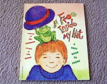 A Frog Inside My Hat - A First Book Of Poems - Children's Book