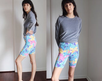 Vintage 80s Hanes High waist work out shorts small