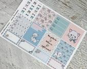 Are You Kitten Me Planner Sticker Set
