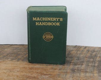 Vintage Machinery's Handbook 13th Edition  1946