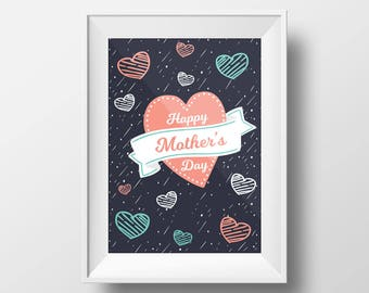 Mother's day print instant digital download