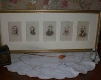 Victorian Gentlemen Cartes de Visites - SALE
