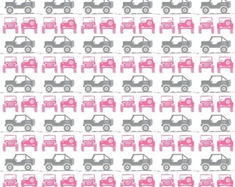 J is for Jeep Fabric by Riley Blake