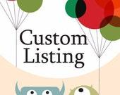 Custom listing for Brent Korte