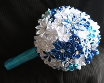 Bouquet de marier: dream blue