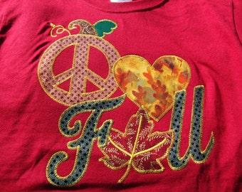 Peace, Love, & Fall