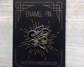 Do no harm, Take no shit Enamel Pin