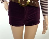 Stylish 70s Chocolate Suede Studded Belt With Oversized Round Buckle Detail
