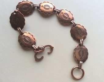 Reduced price Vintage Native copper bracelet. Buy more with combined shipping you save money.