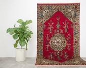 ALEYNA 5x9 Hand Knotted Turkish Wool Rug