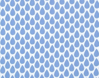 Blue Quinn Rain Drops from Michael Miller's Harper Collection