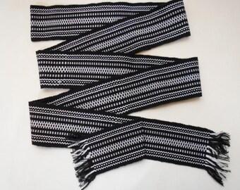 "Ukrainian hand woven belt, krayka. Long 124"". #25"