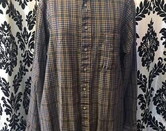 100% Wool Pendleton Button Down-LONG