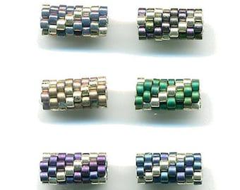 Woven Glass Bead Tube ... ... ... ... ... ... ... 5mm/o-1mm/i ... ... ... ... ... ... 08x06 * 228