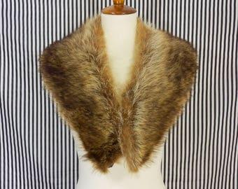 Vintage Raccoon Fur Collar
