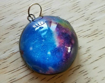 Galaxy Orb Charm Pendant
