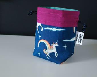Dice Bag ~ Unicorns and Rainbows
