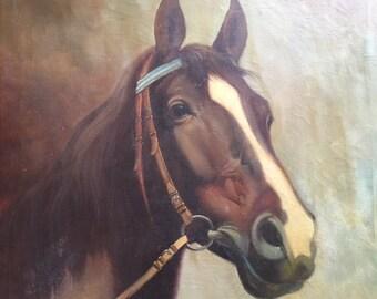 Horse Painting by Corrado Pila