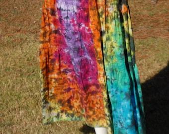 Adult Medium 100% Cotton Pin tuck Skirt