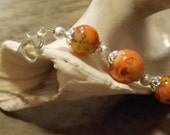 Orange Bellabeat LEAF Bracelet