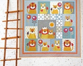 King of the Jungle PDF Quilt Pattern SPECIAL PRICE