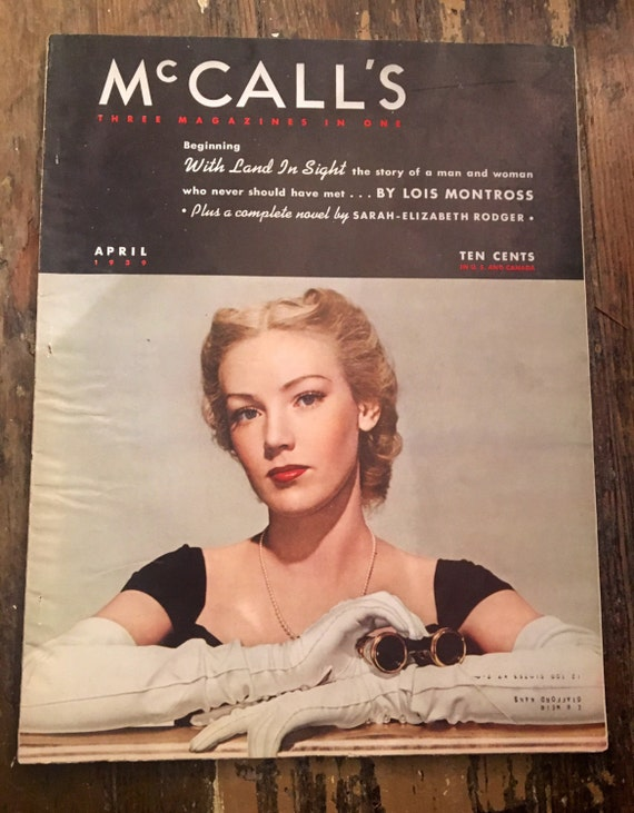 Vintage McCalls Magazine April 1939