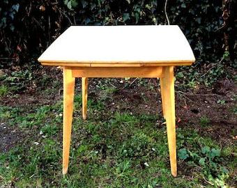 Küchentisch table Esstisch ausziehbar 50's kitchen vintage retro mid century antik