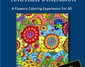 PDF DIGITAL - Alien Flowers From Another Dimension - Coloring Book