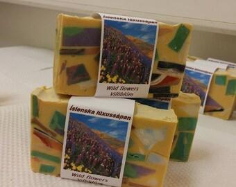 Wild Flowers - Icelandic Luxury Vegan Soap