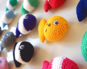 Fish Candy - Crochet Pattern