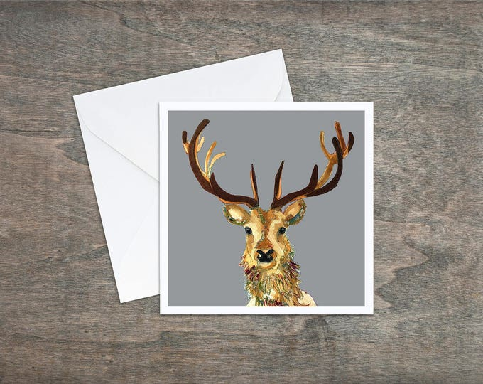 Stag - Art Card