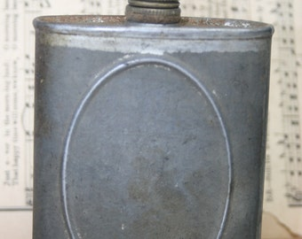 Vintage Metal Oil Can