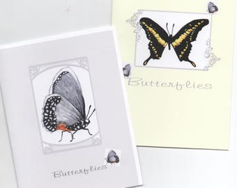 Butterflies Note-Cards