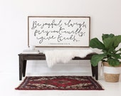 Be Joyful Always - Wood Sign