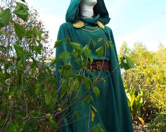Ode to Dr Doom Cape and Tunic Costume