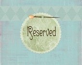 RESERVED FOR TRACI