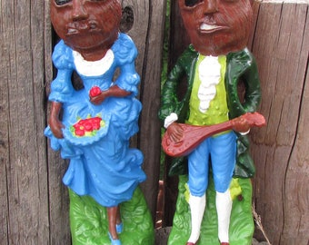 Sasquatch victorian altered monster figurines
