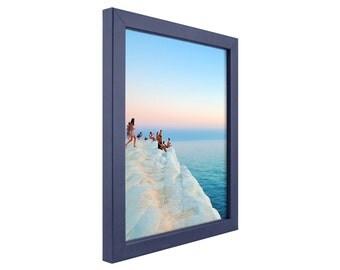 "Craig Frames, 16x20 Inch, Colori, 0.75"" Modern Blue Picture Frame (720251620)"