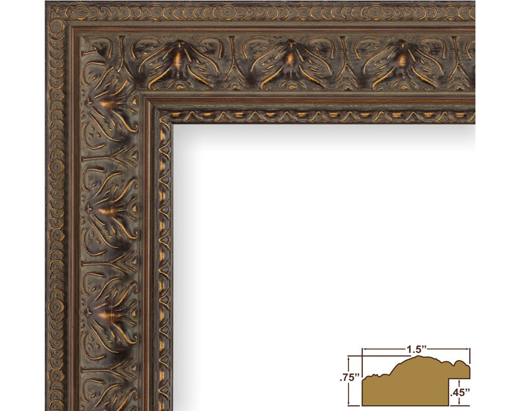 Craig Frames 22x28 Inch Antique Mahogany Picture Frame