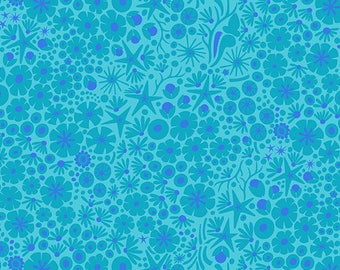 PRESALE - Diving Board - Reef in Mermaid - Alison Glass for Andover - A-8637-T - 1/2 yd