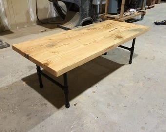 River Salvaged Fir Coffee Table