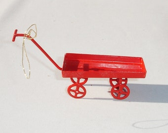 Vintage Metal Scooter Doll House Miniature - 1/12 Scale