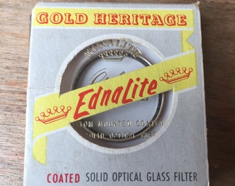 Ednalite Gold Heritage 29mm Portrait +3 Camera Lens Filter