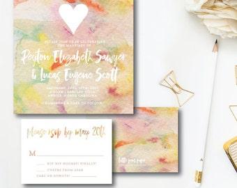 Peyton and Lucas Wedding Invitations