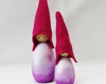 Purple Ombre Cornish Pixie Elf