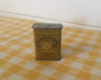 Antique Phillip Morris Cigarette Tin